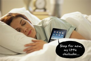It's ok – your iPad isn't responsible for your lack of sleep