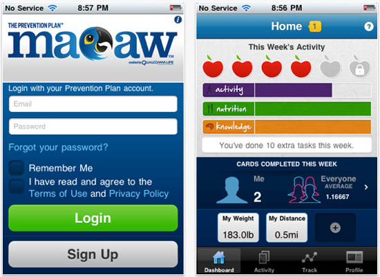 macaw-app-screenshot