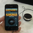 CES 2012: Video demo of the Iqua Beat fitness gadget