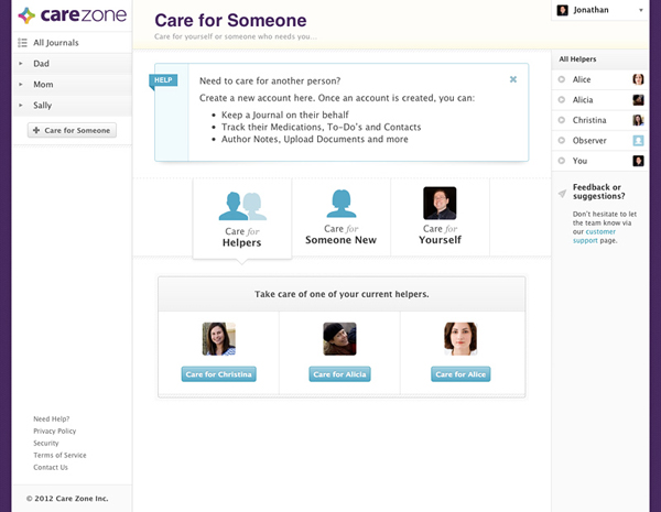 care-zone-screenshot