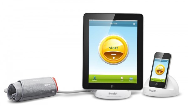 iHealth Dock and App lets you monitor your blood pressure from the comfort of your own home