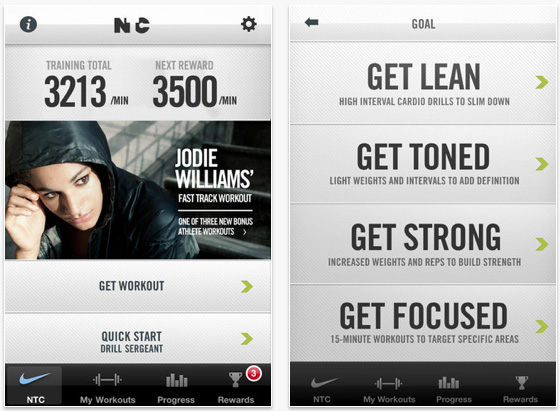 conseguir baratas tecnologías sofisticadas ropa deportiva de alto rendimiento APP REVIEW: Nike Training Club fitness app for simple workouts ...