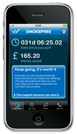 Kick that bad habit once and for all with the NHS Quit Smoking app