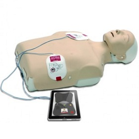 Learn how to use a defibrillator and perform CPR with your iPad