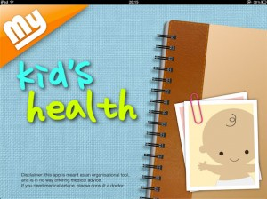 Want to keep track of your child's health? My Kid's Health could help