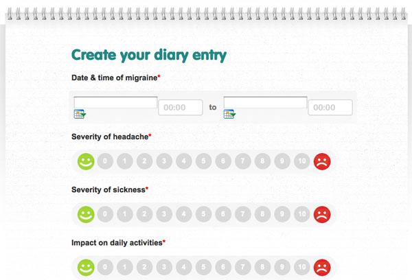 Headache Diary Template Migraine Headache Diary