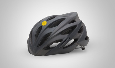 Cyclist must-have: Helmet sticker that calls for help if you fall