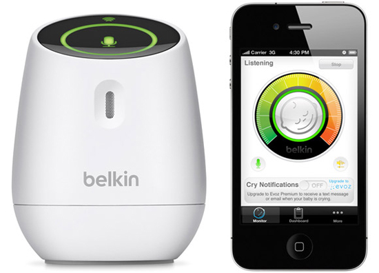 belkin wemo baby turns your smartphone into a monitor connected health. Black Bedroom Furniture Sets. Home Design Ideas