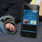 Heart rate monitor sock keeps an eye on your baby's breathing