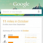 Google Now app gets a pedometer: The first step in Google's fitness tracking mission?