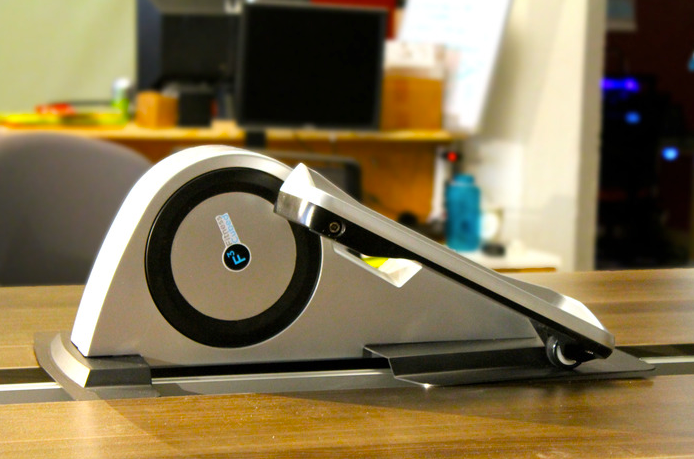 Cubii helps keep the office fit without having to stand