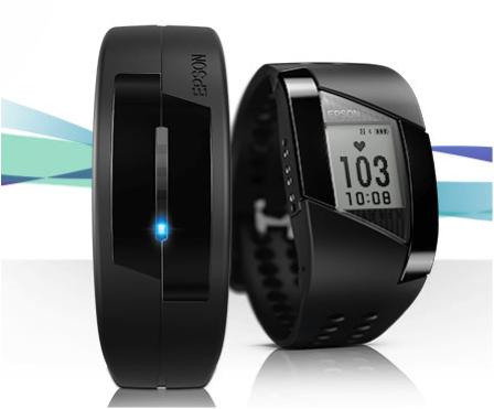 Epson launches its new Pulsense fitness trackers