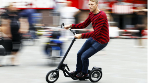 Me-Mover takes steps towards reinventing the bicycle